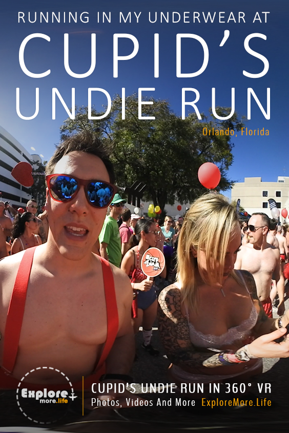 Cupids Undie Run in Orlando